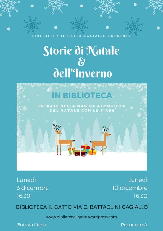 Storie di Natale in biblioteca 2018